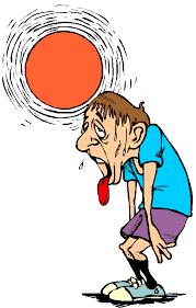 exercise in heat