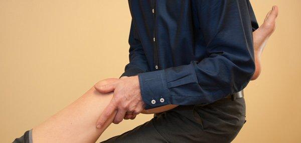 work on knee
